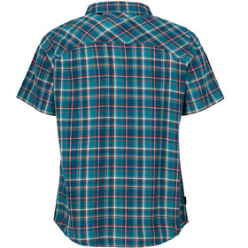 La Sportiva Pinnacle Shirt Herren lake/cardinal red